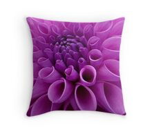 Pom Pom Daliha close up Throw Pillow