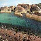 Elephant Rocks. William Bay. Western Australia. by John Sharp
