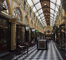 Royal Arcade. Melbourne. by John Sharp