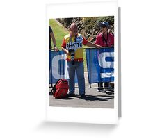 Photographing Photographers. Greeting Card
