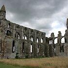 Whitby Abbey ruins by BizziLizzy