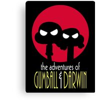 The Adventures of Gumball & Darwin Canvas Print