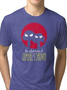 The Adventures of Gumball & Darwin Tri-blend T-Shirt