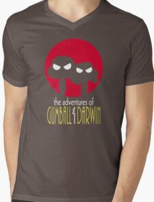 The Adventures of Gumball & Darwin Mens V-Neck T-Shirt