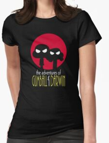 The Adventures of Gumball & Darwin Womens Fitted T-Shirt