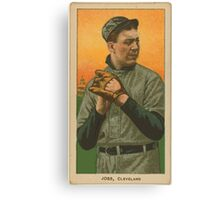Benjamin K Edwards Collection Addie Joss Cleveland Naps baseball card portrait 002 Canvas Print