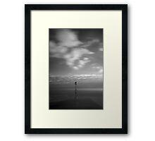 Lytham Jetty 06 - Lytham St Annes, Fylde, Lancs Framed Print