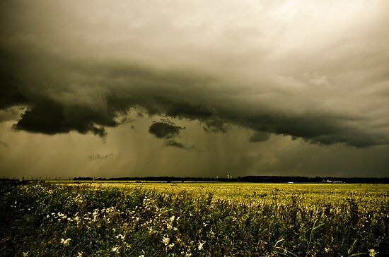 Summer storm by Ulla Jensen