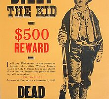 Billy The Kid Dead or Alive by lawrencebaird