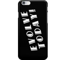 BioShock – Evolve Today! (White) iPhone Case/Skin
