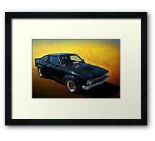 Black Torana A9X Framed Print