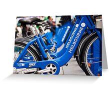 Bikes of Bikes Greeting Card