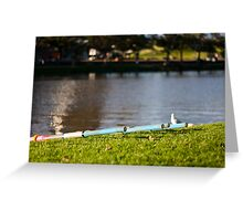 Ready to Row Greeting Card
