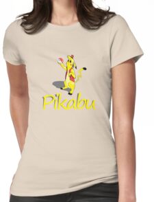 Pikabu Womens Fitted T-Shirt