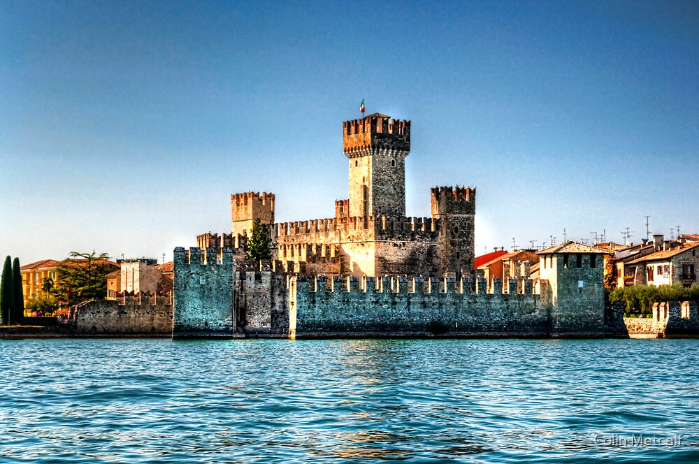 Sirmione Castle by Colin Metcalf