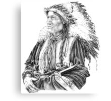 Native American Canvas Print