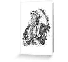 Native American Greeting Card