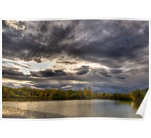 Colorado Fall at Golden Ponds Poster