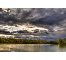 Colorado Fall at Golden Ponds Photographic Print
