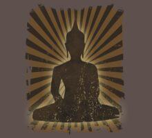vintage Buddha One Piece - Short Sleeve