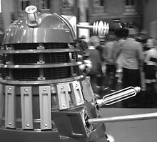 Dalek at a Convention by jackswaggington