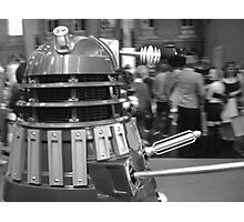 Dalek at a Convention Photographic Print