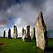Standing stones of Callanish by John Ellis