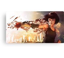 Mirror's edge Canvas Print