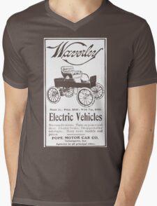 Pope-Waverley Mens V-Neck T-Shirt