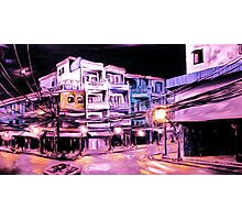 ho chi min: by night Photographic Print