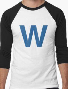 Fly The W - Cubs Playoffs Men's Baseball ¾ T-Shirt