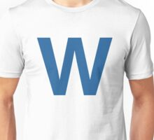Fly The W - Cubs Playoffs Unisex T-Shirt