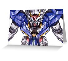 Gundam 00 Greeting Card
