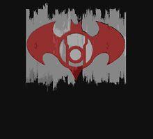 Batman Red Lantern Women's Fitted V-Neck T-Shirt