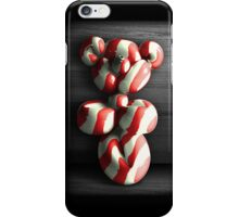 Candy Cane Teddy Balloon iPhone Case iPhone Case/Skin