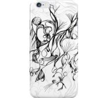 random abstract sketch iPhone Case/Skin