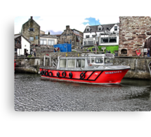Serenity at Seahouses,Northumberland Canvas Print
