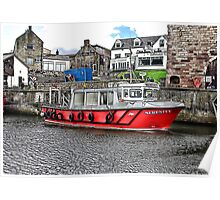 Serenity at Seahouses,Northumberland Poster