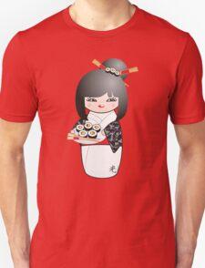 Kokeshi Sushi Unisex T-Shirt