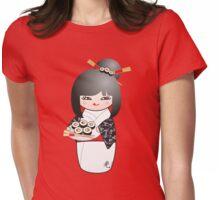 Kokeshi Sushi Womens Fitted T-Shirt