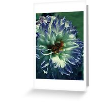 received flowers Greeting Card