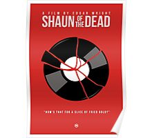 Shaun of the Dead - Record Poster
