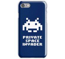 Private space invader iPhone Case/Skin