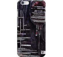 PATIENT HAS TRAUMA HISTORY iPhone Case/Skin