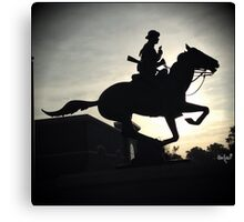 Army Cavalry Canvas Print