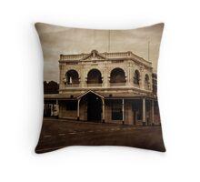 Empire Hotel, Queenstown Throw Pillow