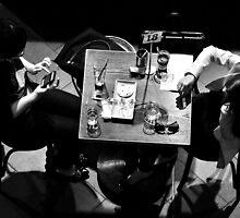 Ennui at Table 18 by Georgie Hart