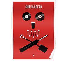 Shaun of the Dead - Skull Poster