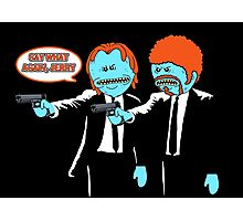 Mr. Meeseeks - Pulp Fiction parody Photographic Print