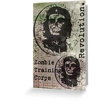 Zombie revolution... Greeting Card